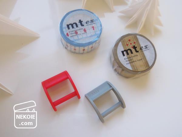 柄が便利なマステ、新用途とミニマルカッター。