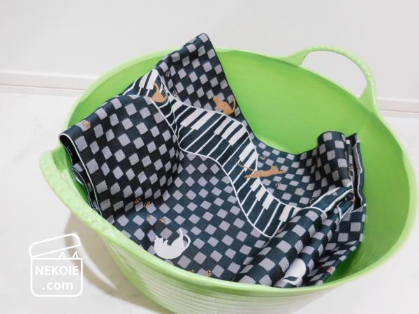 ちょこっと洗濯板と、名古屋帯の丸洗い。