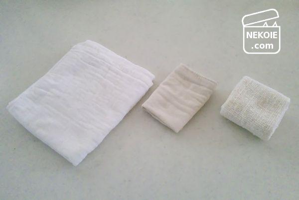 タオルは小さく考える。