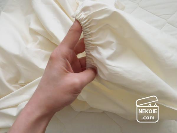 寝具も春物へ、ボックスシーツのたたみ方・干し方。