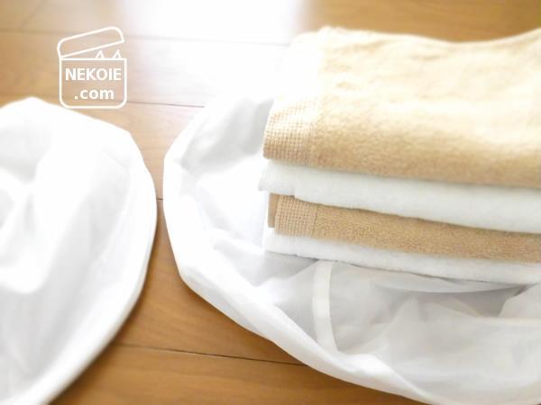 無印良品*洗濯ネットサイズの使い分け