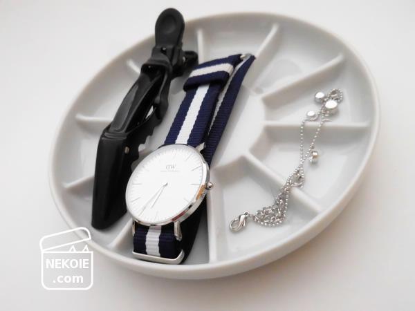 腕時計と指輪も、ナチュラルクリーニング。