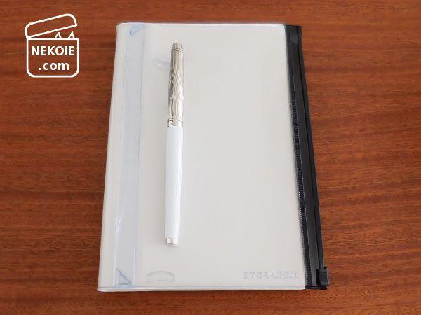 EDiTの1日1ページ、私は「ねこ手帳」として使います。