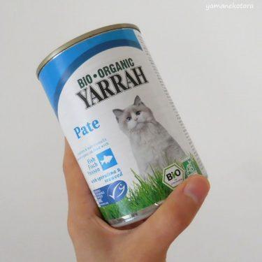 冬の間は、猫缶もあったかく。