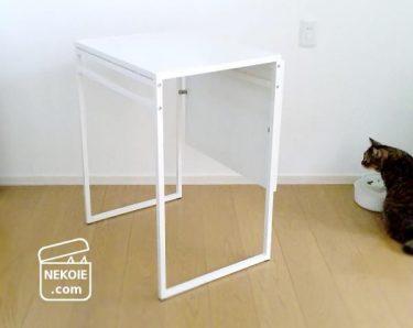 IKEA*シンプルなテーブルを、こたつ風に。