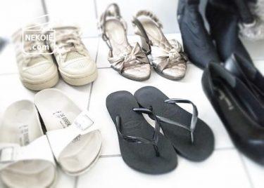 靴の見直し、8足で一年分。