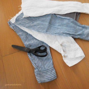 戻ってきた袖で、大掃除の準備。