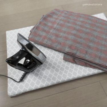 使い古しのタオルは、アイロン用に。