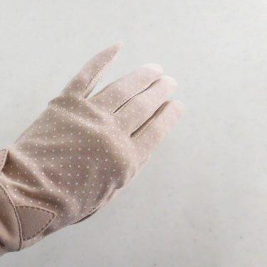 今年は夏にも、手袋を。