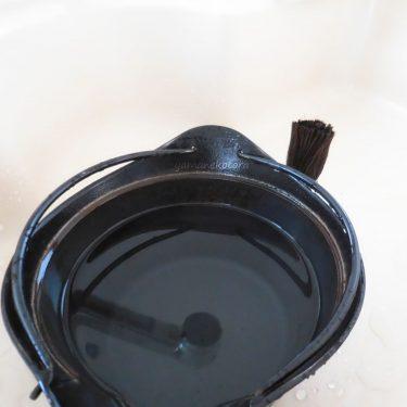 5年目の南部鉄器、湯沸し鍋。